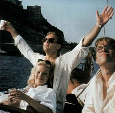 Talented Mr. Ripley (1999) directed by Anthony Minghella, starring Mat Damon, Jude Law, Gwyneth Paltrow, Cate Blanchett and Philip Seymour Hoffman. Based on the novel by Patricia Highsmith (1955)