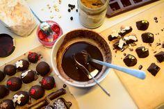 Det Mælkefri Køkken: Chokoladetrøfler