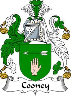 Cooney coat of arms family crest