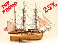 25% off for the order of this ship model and 10% off on any other models