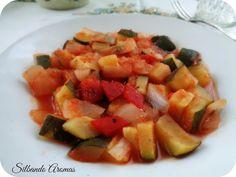 Silbando Aromas: Calabacín en su jugo con tomate
