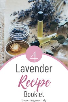 Learn to make your own lavender home and beautify products with this 4 recipe booklet. Click on the pin to learn how to use dried lavender and lavender oil in recipes. #lavenderherb #lavenderoil #essentialoils #lavenderflowers Lavender Flowers, Lavender Oil, Lavender Recipes, Make Your Own, How To Make, Eye Gel, Garden Gifts, Body Spray, Hand Sanitizer