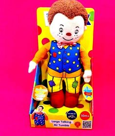 SOMTHING SPECIAL LARGE TALKING mr tumble soft toy that speaks when belly pressed