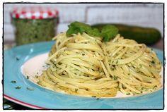 brotbackliebeundmehr - Foodblog - Spaghetti mit Zucchini-Pesto