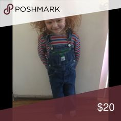 Chucky costume Overalls size 4 and shirt size 4 Costumes
