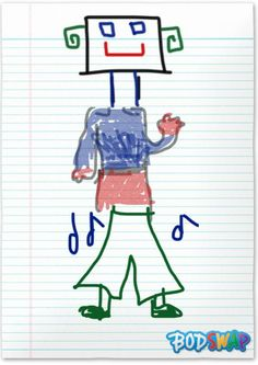 Check out this awesome drawing of Robot made by Emily Twaite