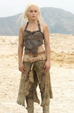 i'm loving the concept of doing daenerys this year. wearing a platinum wig is added novelty.