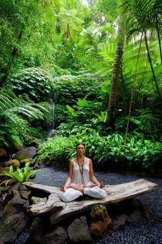 Must visit - Yoga at Ayung River, Bali, Indonesia