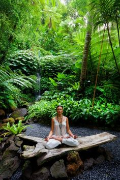 Must visit - Yoga at Ayung River, Bali, Indonesia