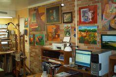 Photo Gallery: Inside Artists' Studios: Art Studio: Rene Ghirardi 4