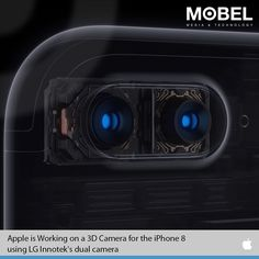 #Apple is Working on a #3D Camera for the #iPhone8 using #LG Innotek's dual camera