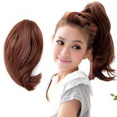 2 Ways Ponytail - Long & Wavy 2 Way, Styling Tools, Hair Tools, Ponytail, Wigs, Hair Care, Long Hair Styles, Beauty Products, Hairstyles