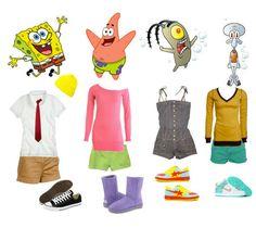 Spongebob OOTD... No wayyyy