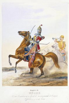 Circassian military officer of the Imperial Russian Army