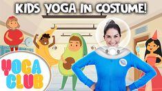 Kids Yoga in Costume! Dress up! 👑🎩⛑ | Yoga Club (Week 31) | Cosmic Kids - YouTube