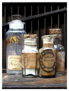 Antique apothecary