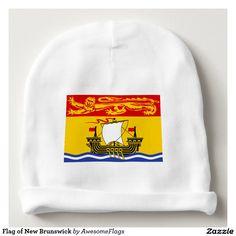 Flag of New Brunswick Baby Beanie