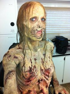 Bicycle Girl Walker in season 1 of The Walking Dead