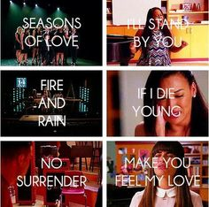 """Glee """"The Quarterback"""" - songs Glee Memes, Glee Quotes, Best Tv Shows, Favorite Tv Shows, If I Die Young, Finn Hudson, Happy Song, Glee Club, Cory Monteith"""