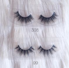 Lovely photo of 2 new lash styles from our Ultra Fluffy Collection #LotusLashes