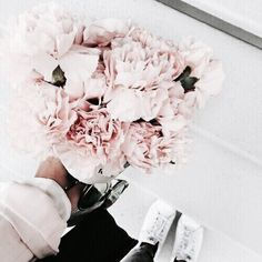 Pink flowers are the best flowers! Peonies arent always in season but when they are they go FAST!