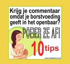 Commentaar op borstvoeding geven in het openbaar? Poeier ze af met deze 10 tips!   Love2BeMama