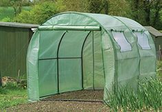 "Gardman 7624 Poly-Tunnel with Reinforced Cover and Windows,  118.11"" Long x 78.74"" Wide x 74.80"" High * Check out this great image  : Gardening DIY"