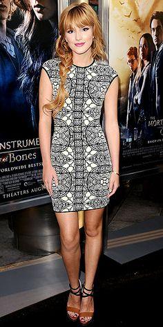 BELLA THORNE'S DRESS photo   Bella Thorne