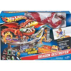 Hot Wheels Dragon Destroyer Playset