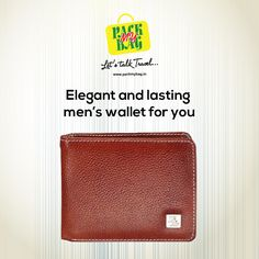 Need a new #wallet? We can help. Buy now at www.packmybag.in #menwallet #wallets #genuineleather #leatherwallets