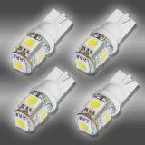 4x 194 168 5-SMD White High Power LED Car Lights Bulb