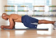 Abs and back: front plank Exercise For Six Pack, Six Pack Abs Workout, Abs Workout For Women, Workout For Beginners, Workout Challenge, Abs Workout Video, Gym Video, Abs Workout Routines, Yoga Workouts