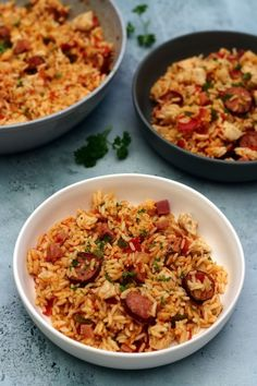 jambalaya poulet au Jambalaya Au Poulet jambalaya au pouletYou can find Easy chicken recipes for dinner and more on our website Easy Chicken Dinner Recipes, Salad Recipes For Dinner, Dinner Salads, Healthy Salad Recipes, Healthy Chicken Recipes, Easy Meals, Cooking Recipes, Easy Salads, Healthy Snacks