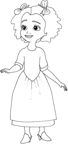 Sofia The First Coloring Pages: King | Printables | Pinterest ...