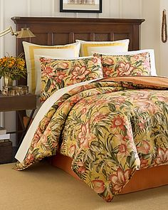 Tommy Bahama - Tropical Lily 4-Piece California King Comforter Set