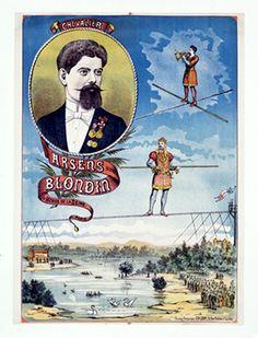 Charles Blondin, the original Niagara tightrope artist