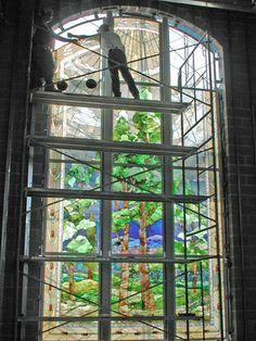 Tom Holdman   Stained Glass - Religious Art