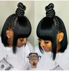 Cute Short Black Haircut Ideas – The UnderCut Cute Short Black Haircut Ideas – The UnderCut,Hair & Beauty that I love Cute-Short-Black-Hairstyles Cute Short Black Haircut Ideas Related Beautiful Natural Hairstyles You Can. Weave Ponytail Hairstyles, Ponytail Styles, My Hairstyle, Curly Bob Hairstyles, Curly Hair Styles, Natural Hair Styles, Curly Ponytail, Hairstyles 2018, Undercut Hairstyles