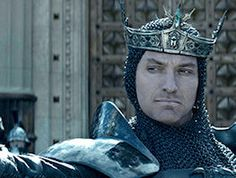 First Look at Jude Law's Villainous Vortigern in KING ARTHUR: LEGEND OF THE SWORD