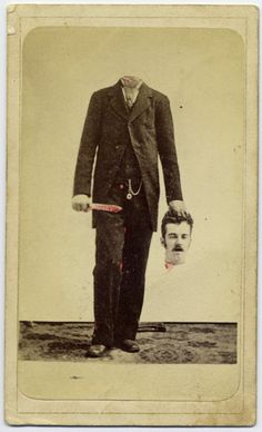 This creepy trick photo from 1875 proves our great-great-great-grandparents had a twisted sense of humor