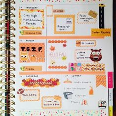 Last half of my week in my @shopbando agenda  as much as I try, I can't find my planner vibe with my #eclp  #bandogirlgang #omgbandoagenda #workingfortheweekend #plannergirl #plannerlove #plannerstickers