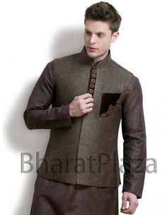 Enhancing Look Nehru Jacket. Item code: NJ1127