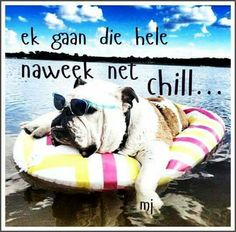 Ek gaan die hele naweek net chill... Goeie Nag, Goeie More, Friday Weekend, Afrikaans, Bible Prayers, Day Wishes, No Time For Me, Besties, Good Morning