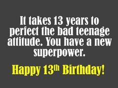 13th Birthday Wishes What To Write In A Card Teenage