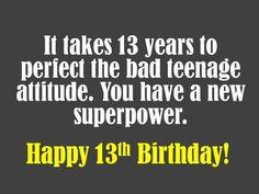 9cf0166f25e0bcc5bbd35cd5b145c78e th birthday wishes birthday sayings happy 13th birthday birthdays pinterest happy 13th birthday