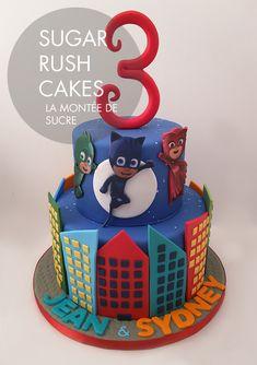 Resultado de imagem para pj masks cake