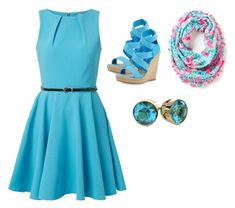 """""""Outfit For School #1"""" by hazedhemmings ❤ liked on Polyvore featuring Closet, Jean-Michel Cazabat and Lilly Pulitzer"""