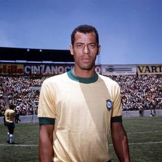 Brazil's Carlos Alberto, captain of the victorious 1970 World Cup winning team in Mexico