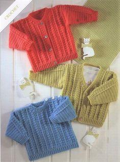 9fe5056bb baby boy crochet sweater patterns
