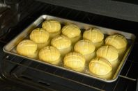 Zojirushi melonpan recipe with cookie variations